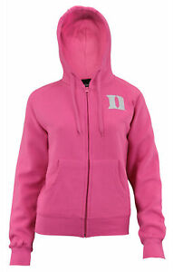 Outerstuff NCAA Women's Duke Blue Devils Zip Up Hoodie, Pink