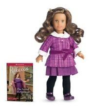 ❄️American Girl Rebecca Mini Doll w/mini book in Winter Wonderland Gift Box ❄️