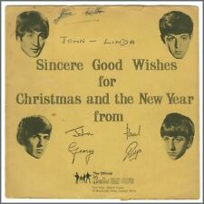 The Beatles 1963 Fan Club Christmas Flexi Record LYN 492 (UK)