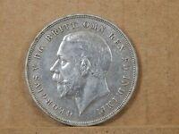 1935 George V Crown Rocking horse crown 50% silver nice grade