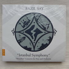 "CD/  Fazil Say - ""Istanbul Symphony"" - ""Hezarfen"" concerto for Ney and Orchestra"