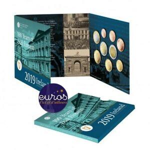 Set BU IRLANDE 2019 - Série 1 cent à 2 euros + 2€ commémorative Dail Eireann BU