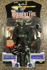 Video Game Super Stars Resident Evil 2 Platinum Tyrant Mr. X Toy Biz 1999 Sealed