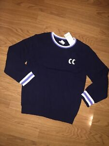 NWT Gymboree Boys Long Sleeve Sweater Navy Pullover Size 5-6