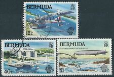 Used Postage Bermudian Stamps
