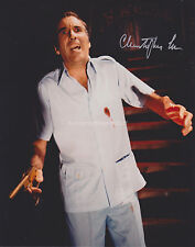 Christopher Lee HAND Signed 8x10 Photo Autograph James Bond The Man Golden Gun E