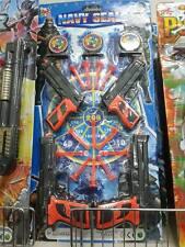 4 pistole bersaglio polizia militare kit gioco di qualità giocattolo toy