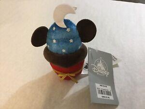 Disney Store Sorcerer Mickey Cupcake Plush