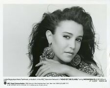 LESLIE BEGA PRETTY PORTRAIT HEAD OF THE CLASS ORIGINAL 1986 ABC TV PHOTO