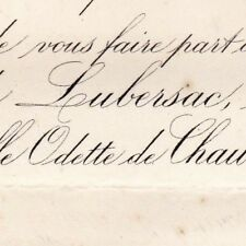 Guy Antoine De Lubersac 1876 Odette De Chaumont Quitry