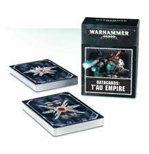 Tau Empire Datacards T'au Warhammer 40k 2018 8th edition 8e Data Cards NEW