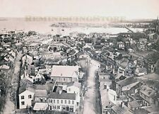 "Annapolis MD "" Bird's EYE VIEW OF ANNAPOLIS "" © 1896 reprint Vintage Photograph"