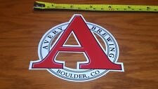 AVERY Brewing Co. Sticker ~NEW! Craft Beer Brew Brewery Logo Decal~ Ale