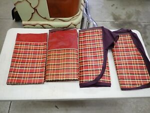 NORS 1941 1942 1946 1947 1948 Chevrolet Pontiac Oldsmobile 4 Dr Seat Covers ! !