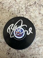 Brock Nelson Autographed Signed New York Islanders Puck