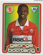 N°393 BOATENG NETHERLANDSMIDDLESBROUGH STICKER MERLIN PREMIER LEAGUE 2005