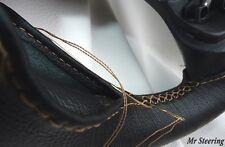 Pour renault r8 gordini Véritable Cuir Italien Volant Couverture Beige Stitch