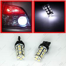2x White 18-SMD Back Up Reverse 7440 7444 7443 T20 LED Light Bulbs Backup