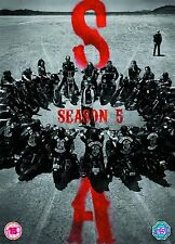 SONS OF ANARCHY COMPLETE SERIES SEASONS 5 DVD R4 NEW
