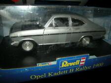 1:18 Revell Opel Kadett B Rallye 1900 silber/silver Metal not composite in OVP