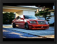 "TOYOTA CROWN MAJESTA TUNED A3 FRAMED PHOTOGRAPHIC PRINT 15.7""x11.8"""