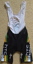Mens MOA HTC Highroad Bike Cycling Bib Shorts Knicks Size 2 (S) Made in Italy