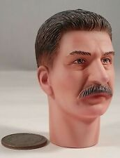 ACI Stalin Head Sculpt 1/6 Toys City 3R Dragon DID for 12 inch Figure WWII