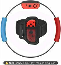 Nintendo Switch Joy-con Ring Fit Adventure Fitness Ring Ring-Con Grips Leg Strap