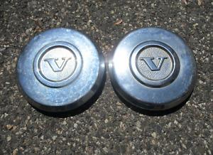 Factory original 1974 to 1979 Volvo 240 DL hubcaps center caps