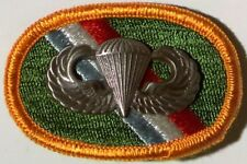 11th SPECIAL FORCES GROUP - OVAL WITH JUMP WINGS - para parachute airborne