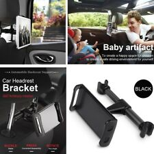 Black Car Headrest Back Seat Holder Mount for any 4 to 11 Inch Tablet Phone