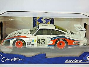 Solido Porsche 935 Mobydick - LeMans 1978 No.43