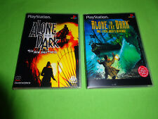 EMPTY CASES!  Alone in the Dark 1 & 2 The New Nightmare PlayStation PS1 PS2 PS3