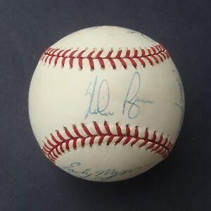 300 WIN PITCHERS Signed Baseball Autographed 8 Sigs COA