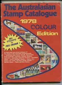 Australasian Stamp Catalogue 1978  Edition  112  pages