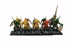 Los Demonios del Caos de Warhammer 40k Sigmar Nurgle Plaguebearers Pack (w4806)