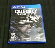 Replacement Case (NO GAME) CALL OF DUTY GHOSTS PLAYSTATION 4 PS4