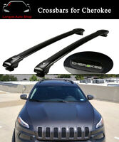 Crossbar Cross bar Roof Rack Rail Fits for Jeep Cherokee 2014-2019 Carrier