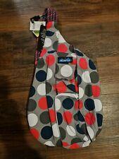 KAVU Rope Bag Cotton Shoulder Sling Backpack Got Dots