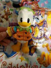 Tokyo Disneyland 2016 Halloween Donald Duck Keychain Plush
