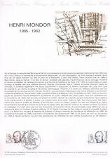 Document Officiel   1982 21   Henri Mondor  Yv N° 2226