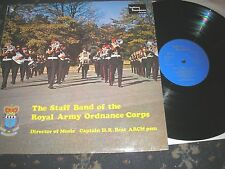 STAFF BAND OF THE ROYAL ORDNANCE CORPS MARCHES OF EUROPE  DIX.51 1973 NEAR MINT