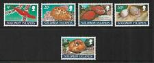 1990 Cowrie Shells Set of 5 Complete MUH/MNH as issued
