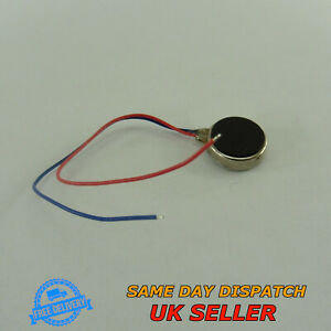 Micro Flat Vibration Motor for Cell Phone & Pager Coin Mobile Vibro Button