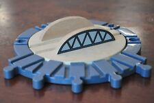 THOMAS TANK ENGINE Wooden Railway Turntable Entry Track Tidmouth Shed Roundhouse