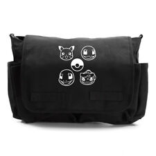 Pokeball Pokemon Heavyweight Canvas Messenger Shoulder Bag