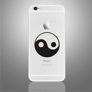 Yin Yang Sticker Decal for PHONE,  iPhone X, 6,6Plus,6s,6sPlus, 7,7Plus,8,8Plus