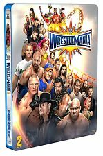 WRESTLEMANIA 33 (WWE) BOX 2 BLURAY Limited Edition Steelbook in Inglese NEW .cp