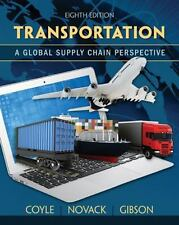 NEW - Free Express Ship - Transportation : A Global Supply Chain Perspective 8E