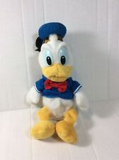 "Disney Cruise Line Sailor Donald Duck  Plush Bean Bag Stuffed 9"" Soft Toy"